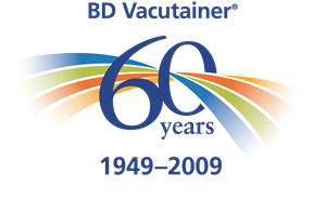 BD Vacutainer 60 Years 1949-2009 Logo Vector