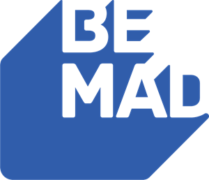 Be Mad Logo Vector
