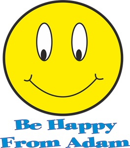 be happy Logo Vector