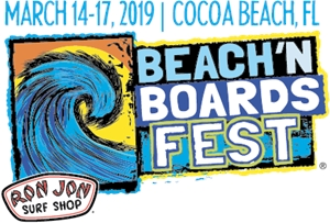 Beach'n Boards Fest Logo Vector