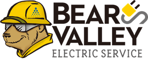 Bear Valley Electric Service Logo Vector