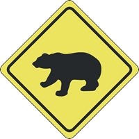 Bears Crossing Logo Vector