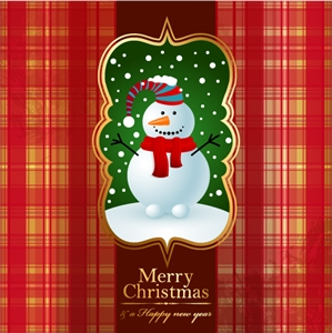 beautiful christmas background Logo Vector