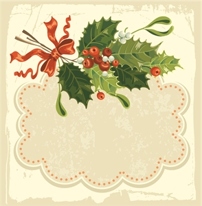 beautiful christmas Logo Vector