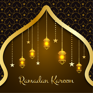 Beautiful ramadan kareem Logo Vector