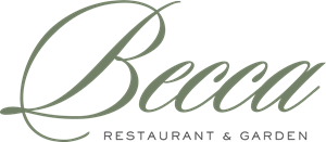 Becca Restaurant and Garden Logo Vector