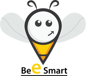 Bee Smart Logo Vector