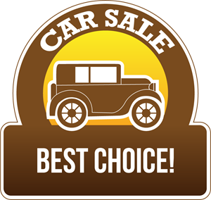 Best sale car sign Logo Vector