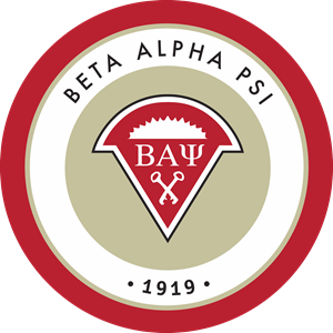 Beta Alpha Psi Fraternity Logo Vector