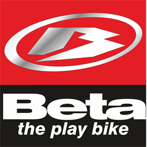 Beta Bike Logo Vector