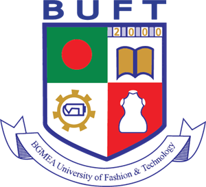 BGMEA University of Fashion and Technology (BUFT) Logo Vector