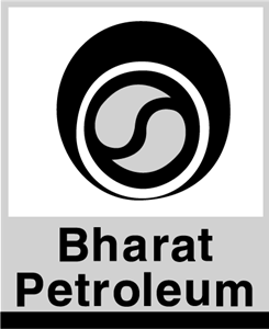 Bharat Petroleum Black Logo Vector