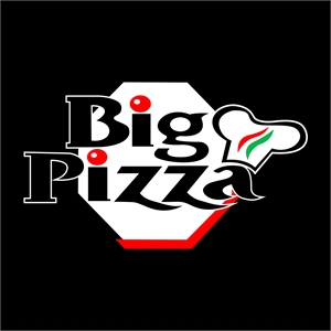 Big Pizza Logo Vector