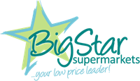 Big Star Market Logo Vector