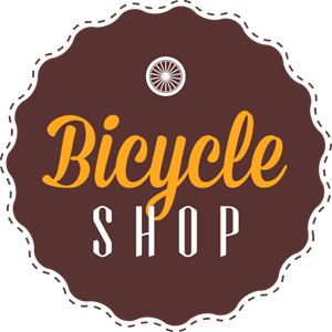 Bike badge shop Logo Vector