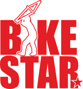 bike star Logo Vector