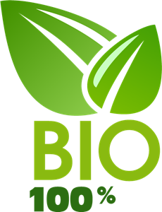 bio 100 logo vector eps free download