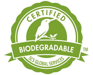 Biodegradable Certified by SCS Global Services Logo Vector
