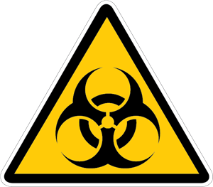 BIOHAZARD SIGN Logo Vector