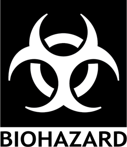 BIOHAZARD WARNING SIGN Logo Vector