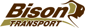 Bison Transport Logo Vector