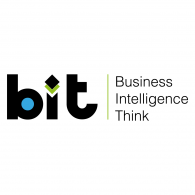 BIT Business Intelligence Think Logo Vector