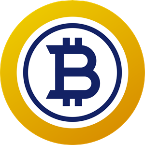 bitcoin gold (BTG) Logo Vector