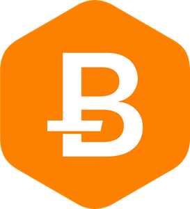 Bitcoin Rhodium Logo Vector