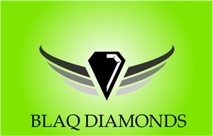 Black Diamond Car Logo Vector