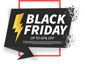 Black Friday Logo Vector