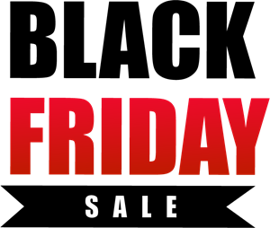Black Friday Sale Logo Vector