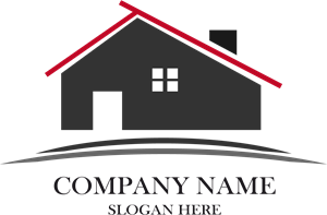 Black House Company Logo Vector