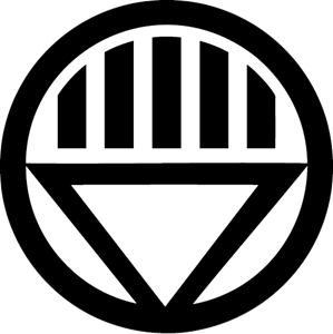 Black Lantern Corp - Green Lantern Blackest Night Logo Vector