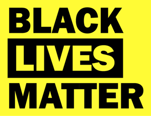 Black Lives Matter Logo Vector