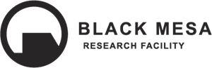 Black Mesa Research Facility Logo Vector