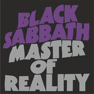 Black Sabbath Master Of Reality Logo Vector