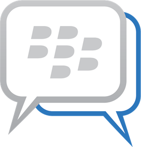 Blackberry Messenger Logo Vector