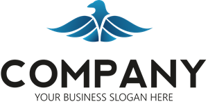 Blue Bird Company Logo Vector