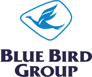 Blue Bird Logo Vector