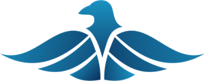 Blue Eagle Logo Vector