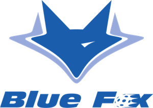Blue Fox Logo Vector