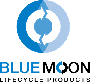 Blue Moon Lifecycle Product Logo Vector
