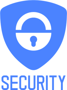 Blue Security Logo Vector