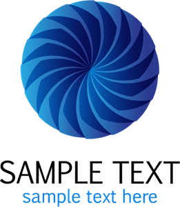 Blue Shape Logo Vector