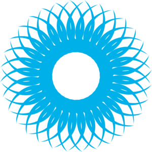 BLUE SUN Logo Vector