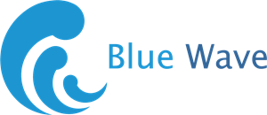 Blue Wave Logo Vector