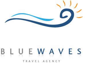Blue Waves Logo Vector