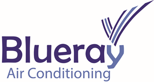Blueray Air conditioning Logo Vector