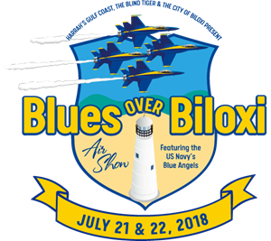 Blues Over Biloxi Logo Vector
