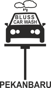 BLUSS CAR WASH PEKANBARU Logo Vector